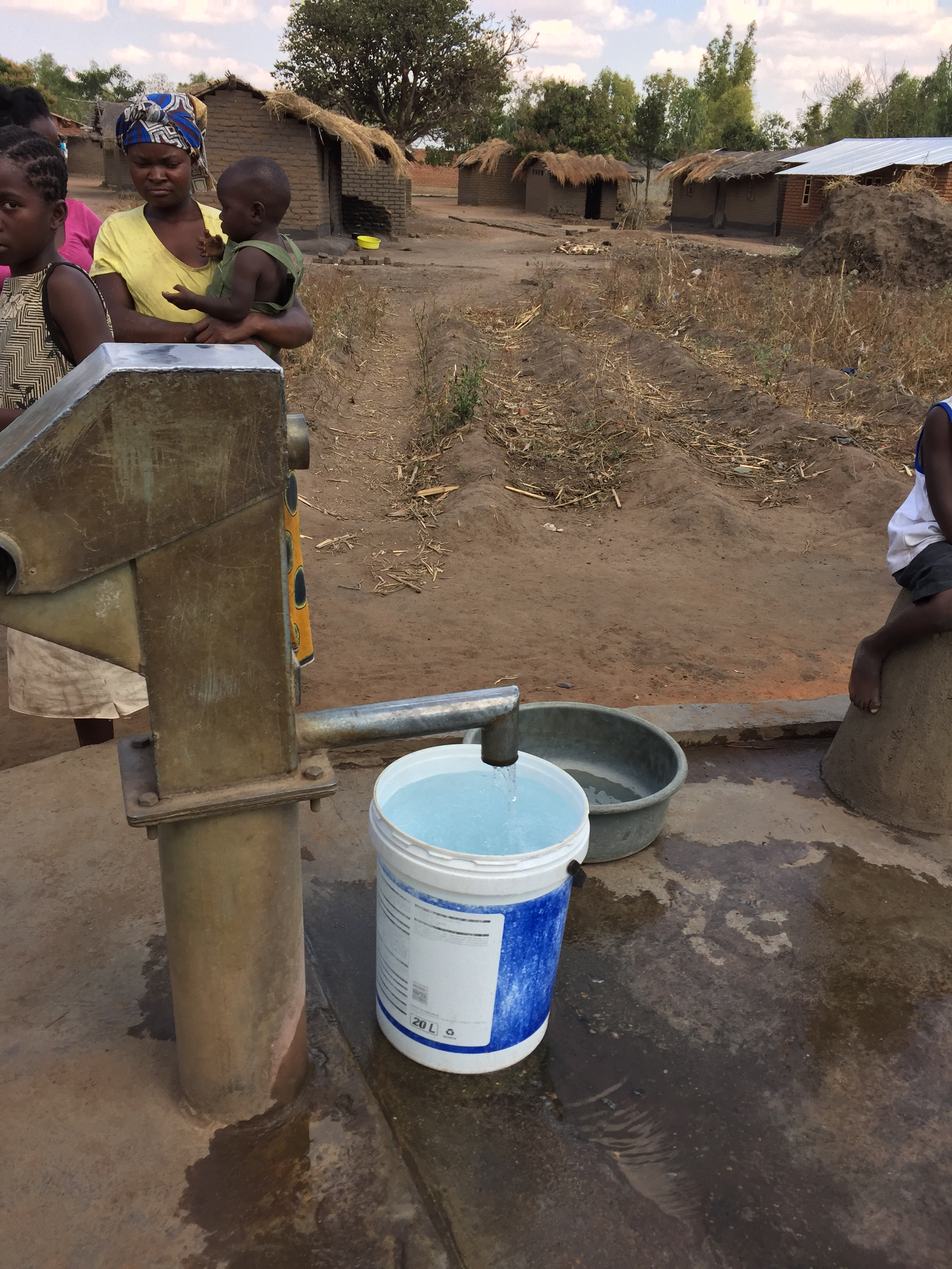 Pumping Well Africa Water
