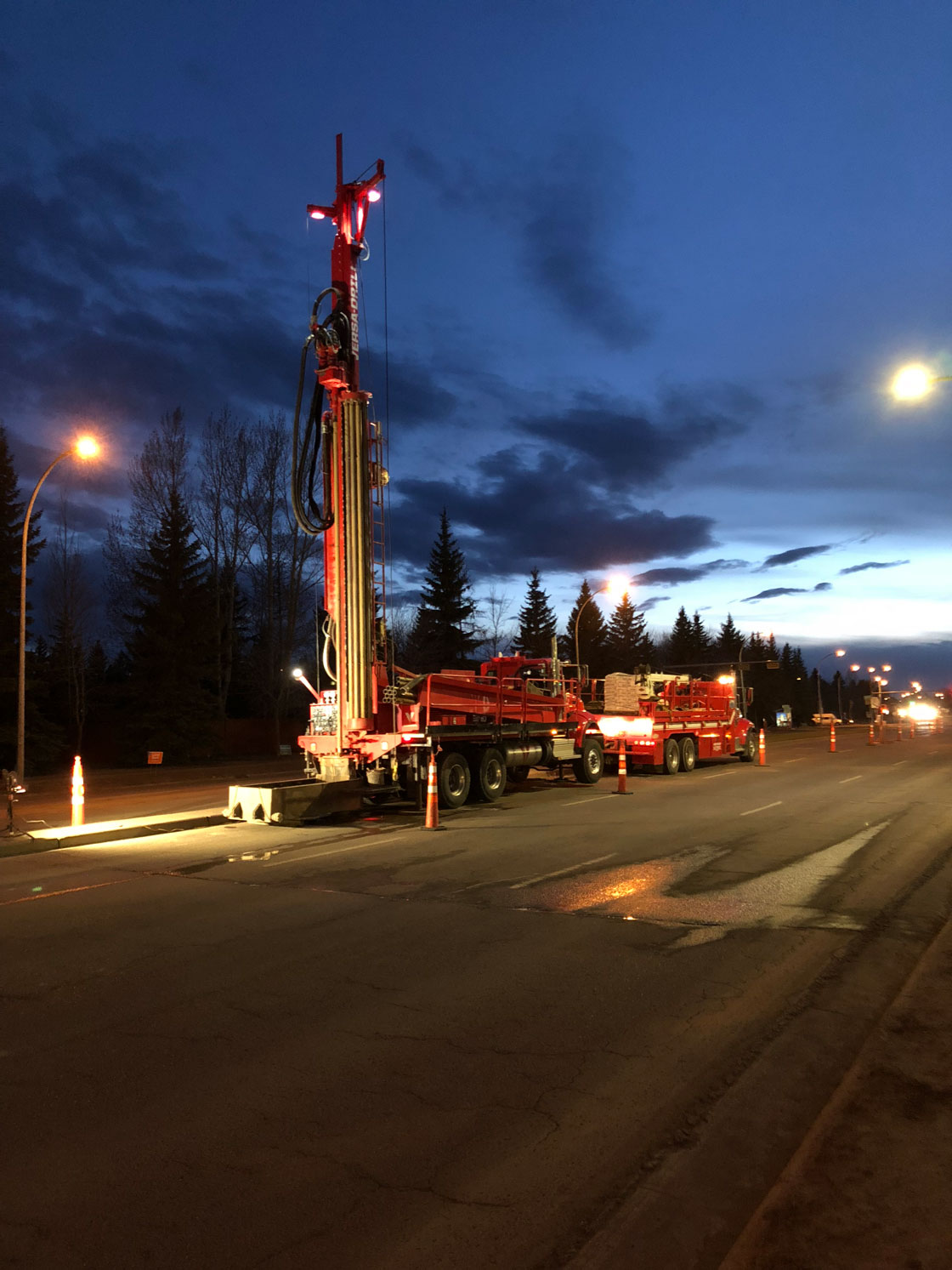 Summers Drilling Truck Night 2