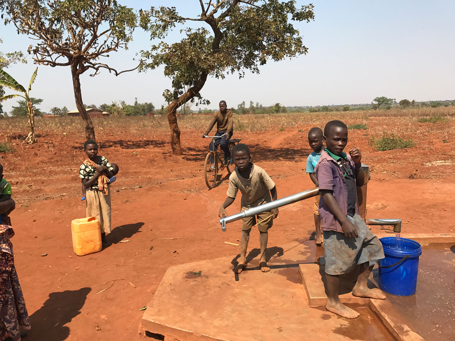 Red Dirt Well Africa