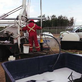 water well servicing summers drilling