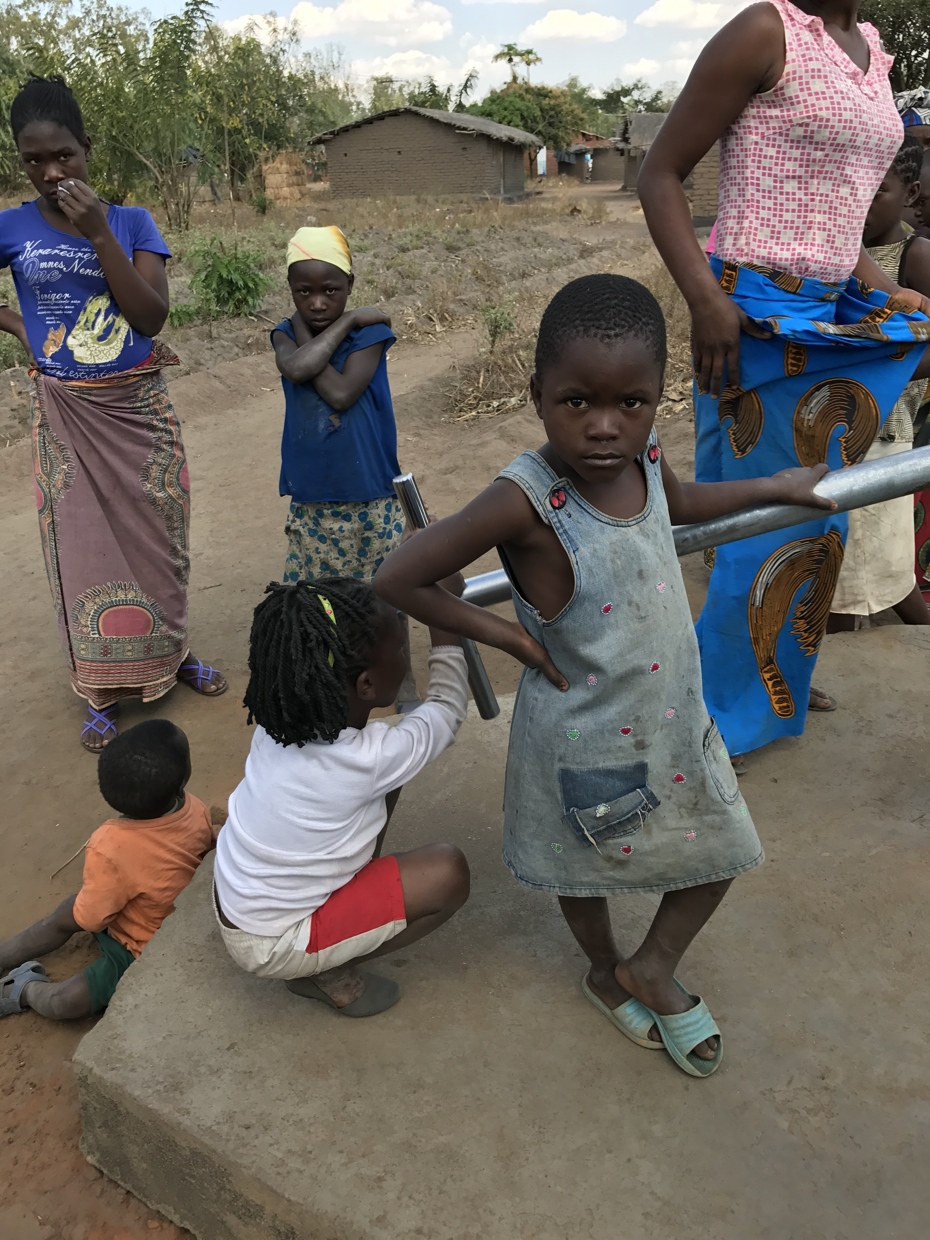 Children Well Africa Pump